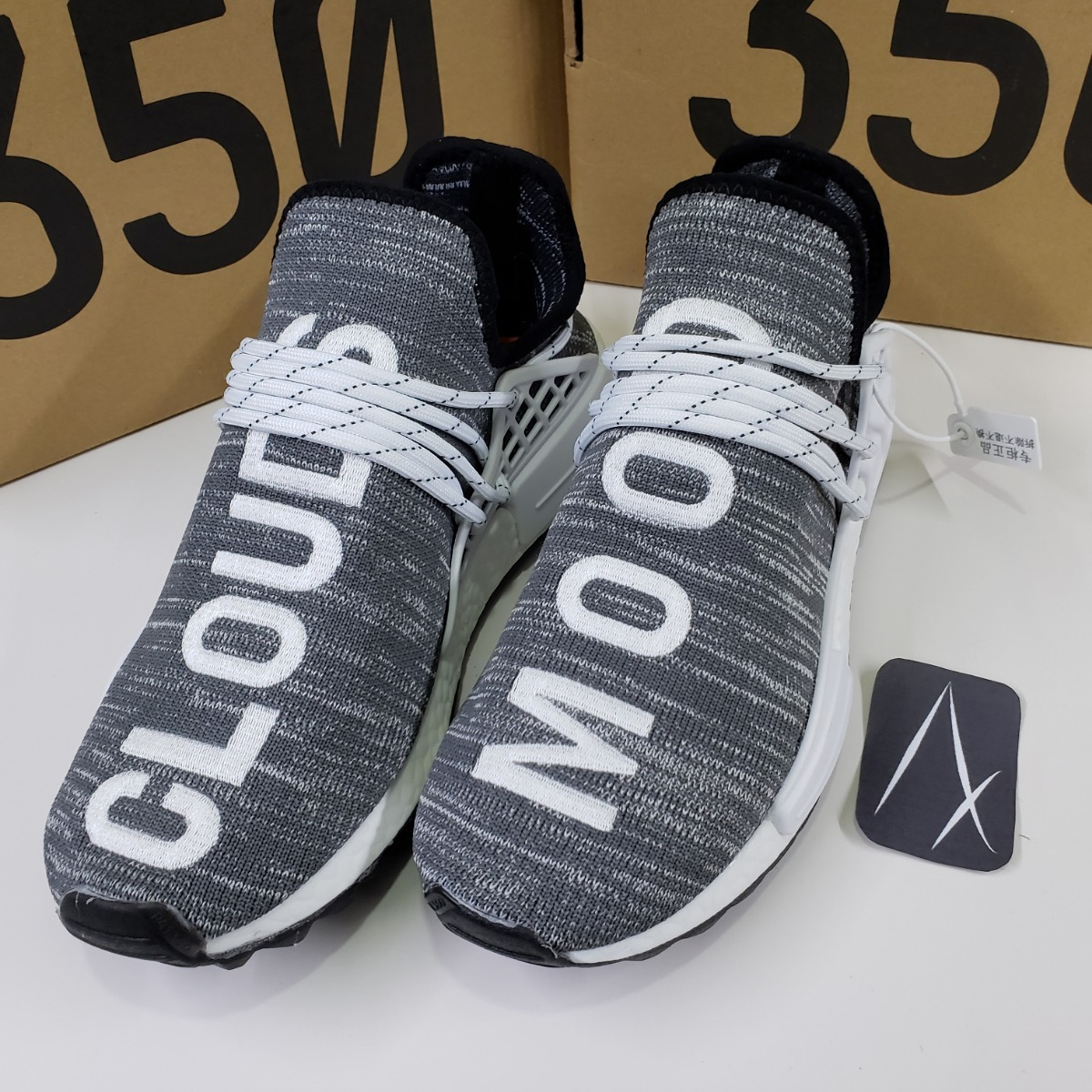 official photos 74e0a 7c21d adidas Nmd Human Race Clouds Mood Trail Boost Adv
