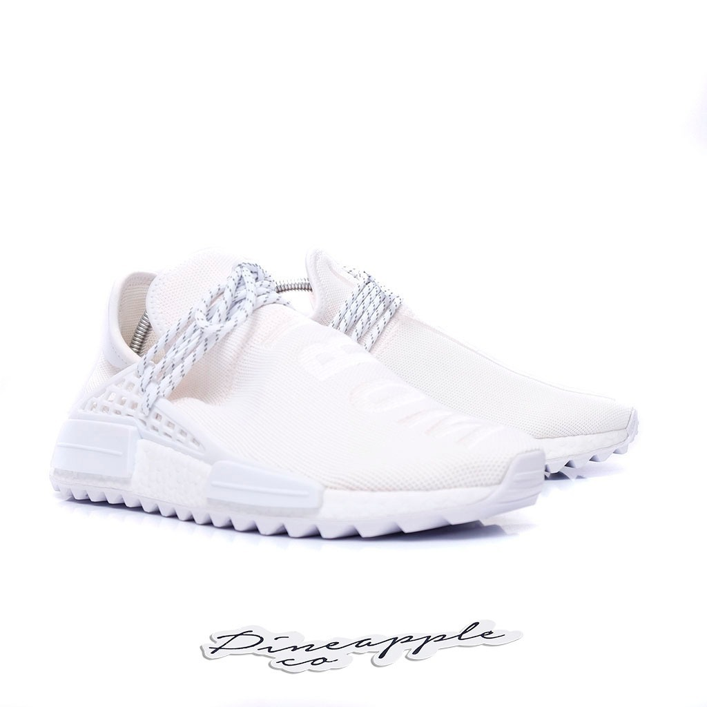 save off 9e149 2d8c4 adidas Nmd Human Race X Pharrell Blank Canvas Tam 37 Br