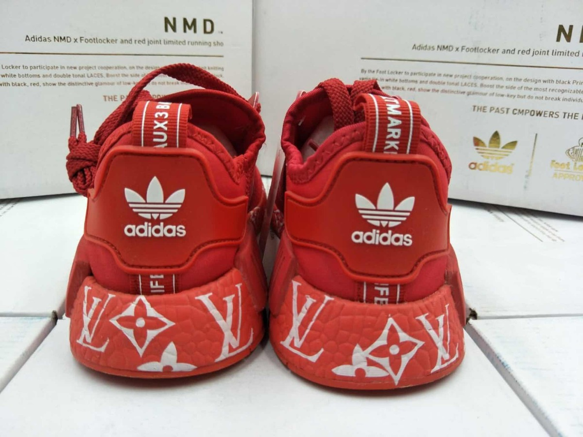 huge selection of b575b 45378 adidas Nmd Louis Vuitton X Supreme