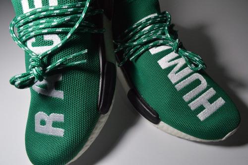 adidas nmd pharrell williams human race verde