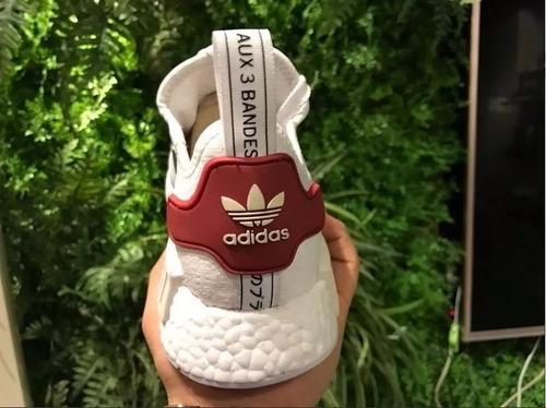 adidas nmd r1 by gucci original na caixa lançamento