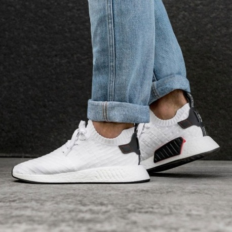 c78858e233bb21 adidas Nmd R2 Sneakers Blanca !! Vte Lopez -   4.190