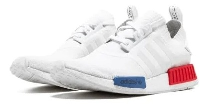 wholesale dealer 8e075 6c653 adidas Nmd Runner Pk White Red Blue / Envio Gratis