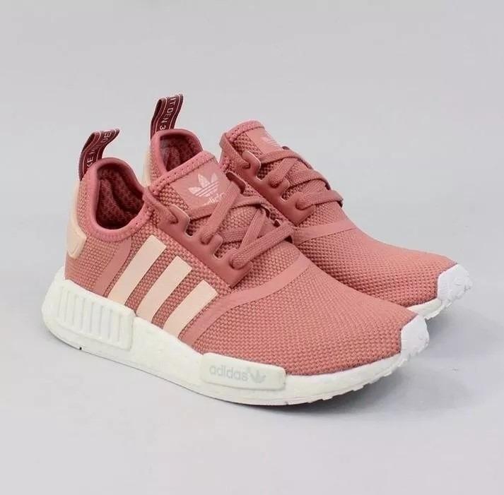 adidas nmd r1 preto e rosa