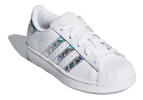 adidas original zapatillas lifestyle niña superstar c fkr