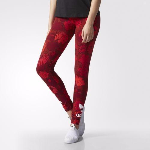 01b9a4042b3de adidas Originals Floral Leggings With Trefoil Logo - $ 1.300,00 en ...