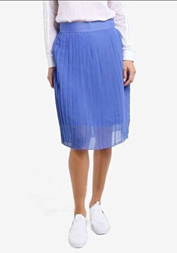 adidas originals mujer negro midi falda plisada de para muje