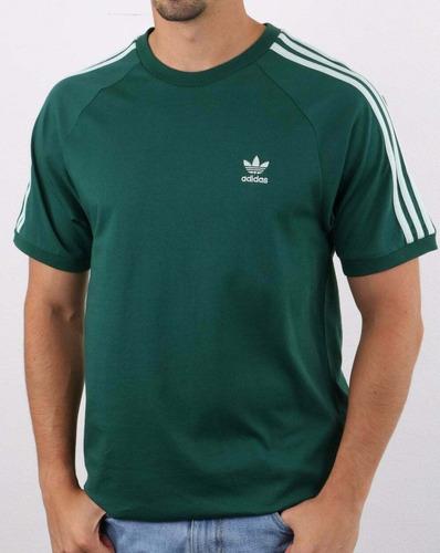 adidas originals para hombre camiseta mangas cortas escote