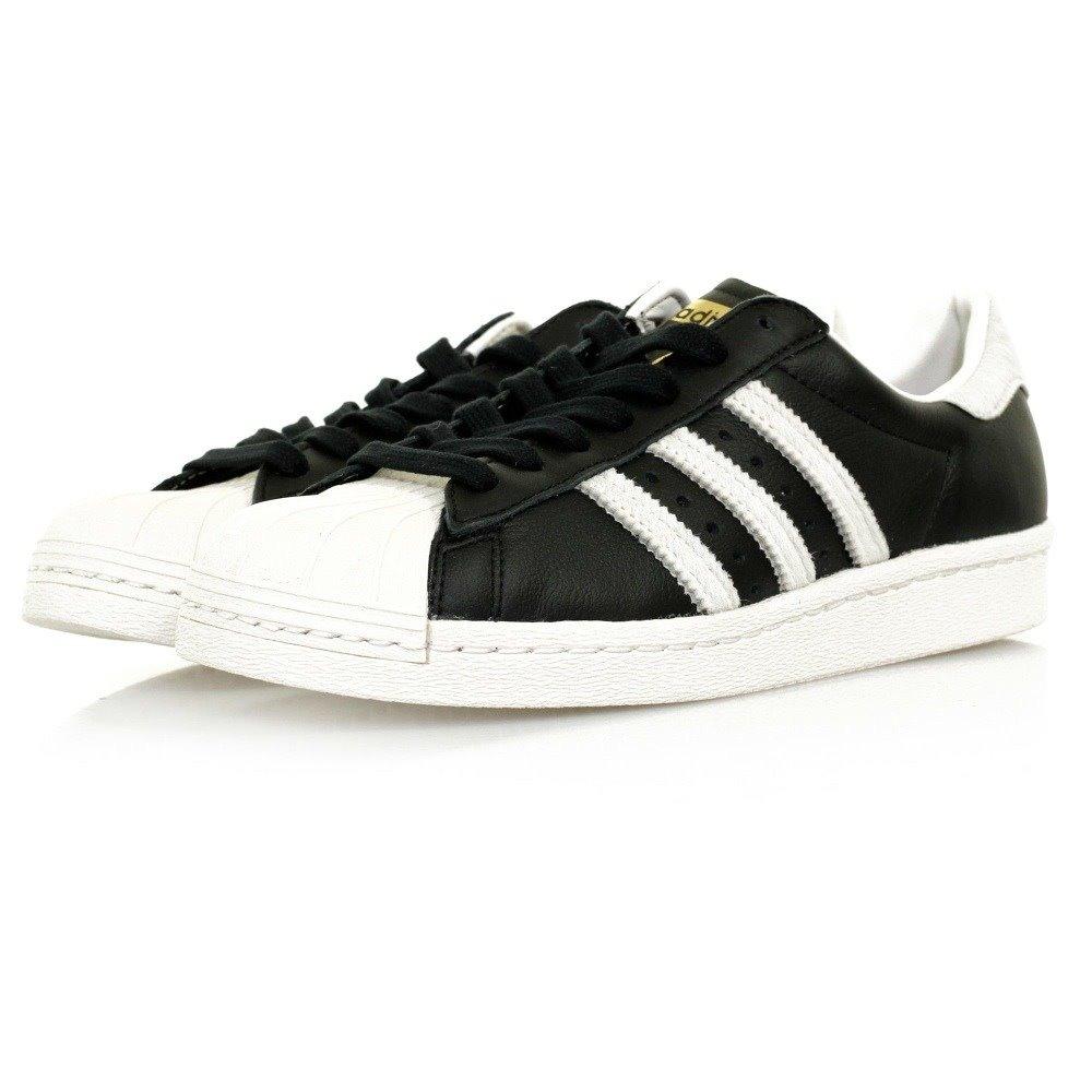 the best attitude 1cb9c e8c2a adidas originals superstar 80s zapatos tenis negro piel 28. Cargando zoom.