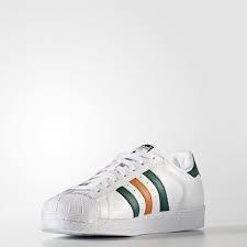 best service 14476 b7a48 adidas originals superstar blanco verde naranja de hombre