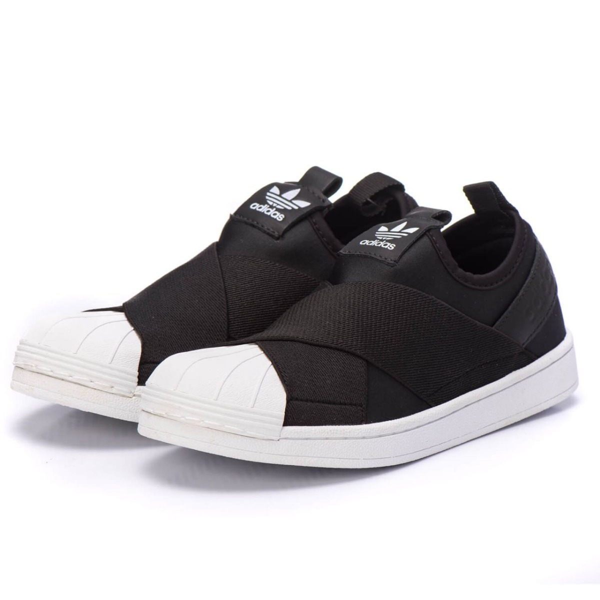 6bb9e2adced ... denmark adidas originals superstar slip on w preto. carregando zoom.  19f86 68dd7