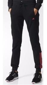 Mujer Pnt Mid 3s Adidas Black Pantalon Tira Ess Performance zSUGqVMpL