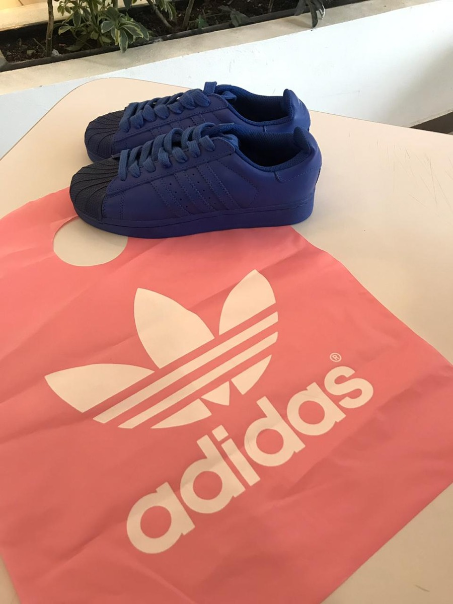 separation shoes f4dc1 8118f adidas pharrel williams concha azul superstar envío gratis. Cargando zoom.