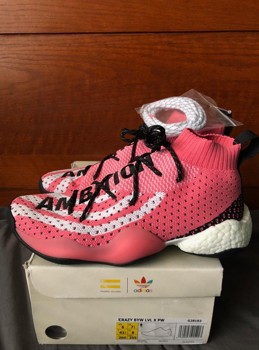 buy online 8f757 b922a adidas Pharrell Williams Crazy Byw Lvl X Viene Amplio G28183