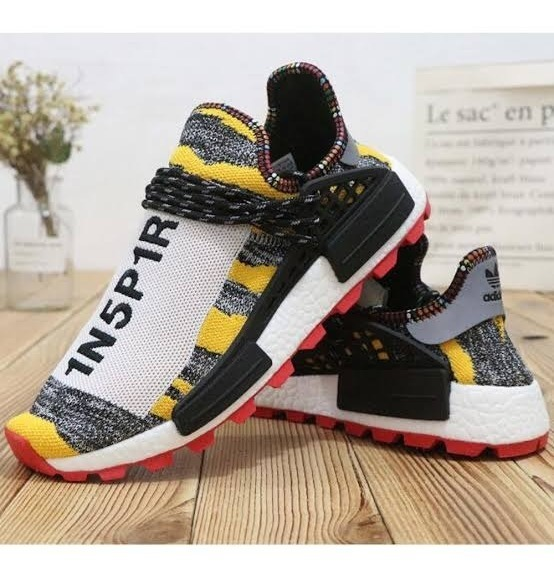 new arrivals fc8df 2fd9e adidas Pharrell Williams Solar Hu Nmd Solar Pack 3mpow3r