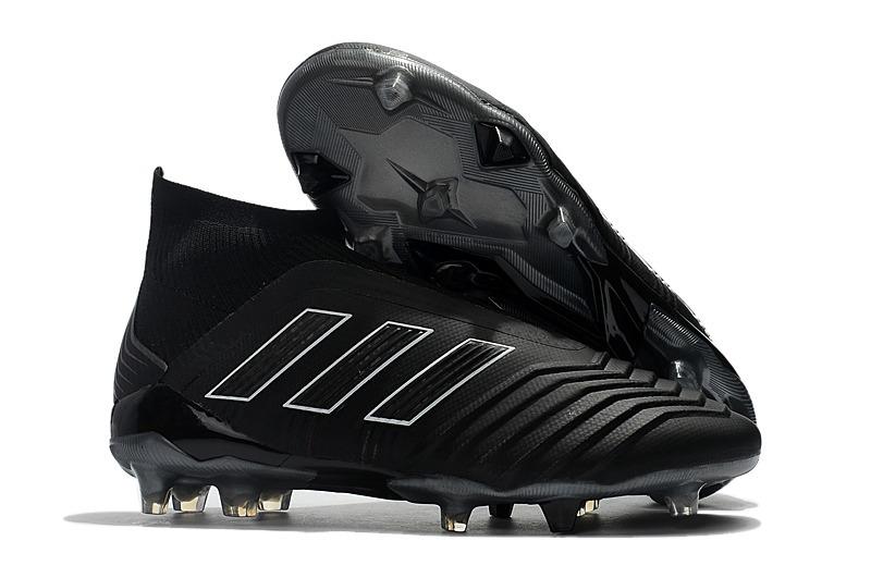 d6ea965aee adidas Predator 18+ Fg Black Promoção - R  350