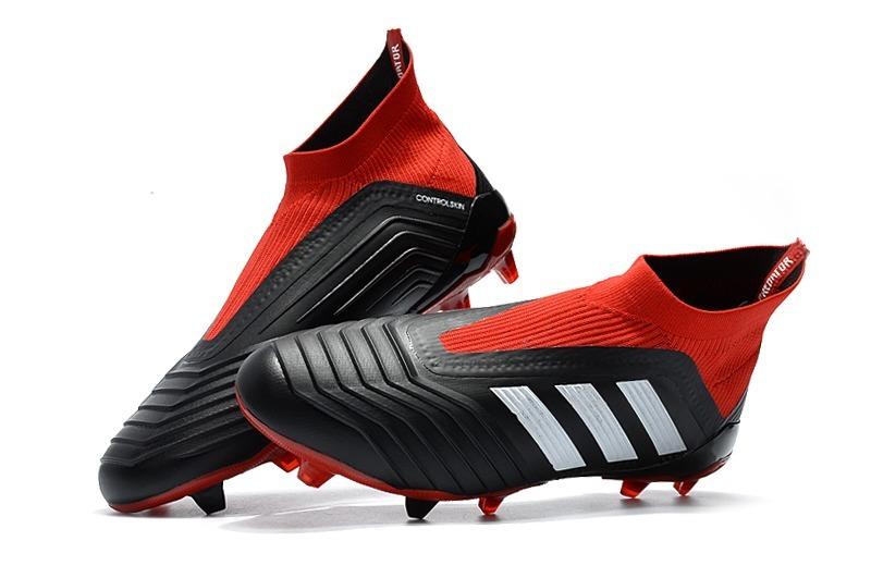new concept e074d 0d94c ... promo code for adidas predator 18 fg negro rojo niños. cargando zoom.  8f046 5a4c5