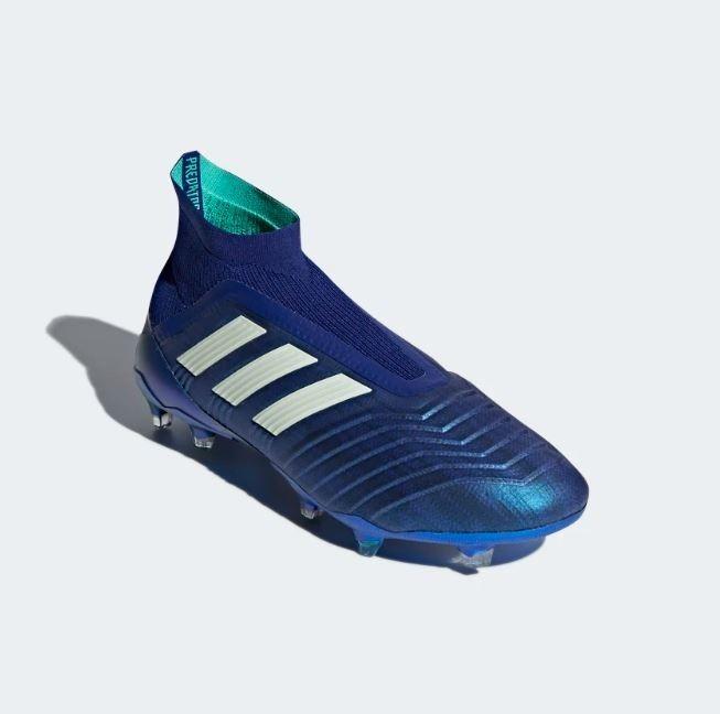 adidas Predator 18+ Terreno Firme Azul Metalico Nuevos -   6 9e7e344a95e6f