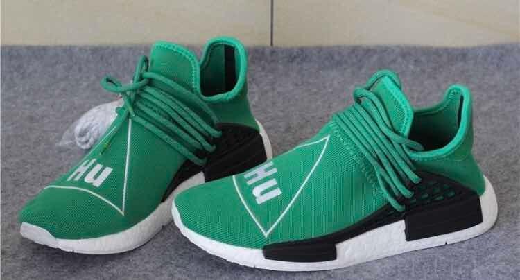 new styles df6c0 e62c9 adidas Pw Nmd R1 Pharrell Hu Verde