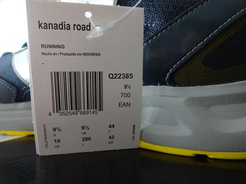 adidas running kanadia road original genuino novo na caixa