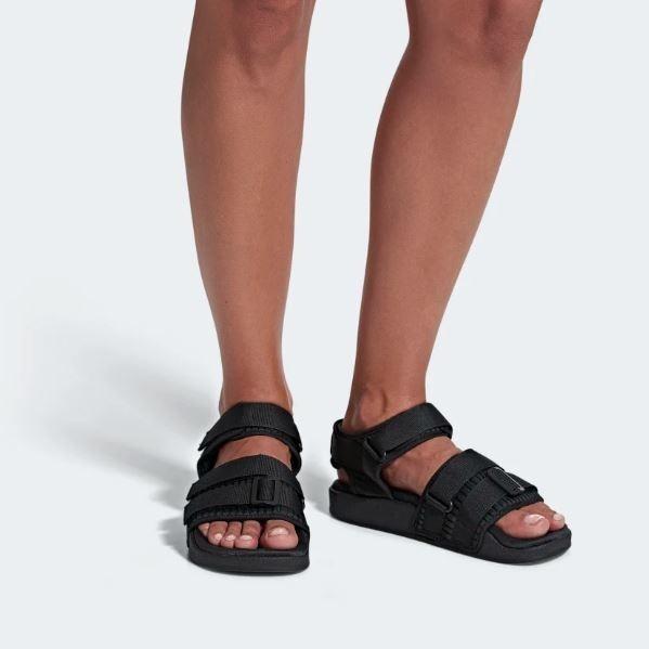 Adilette 2 Sandal Negro Adidas Sandalias 0 Original W Mujer CrdoExBeQW