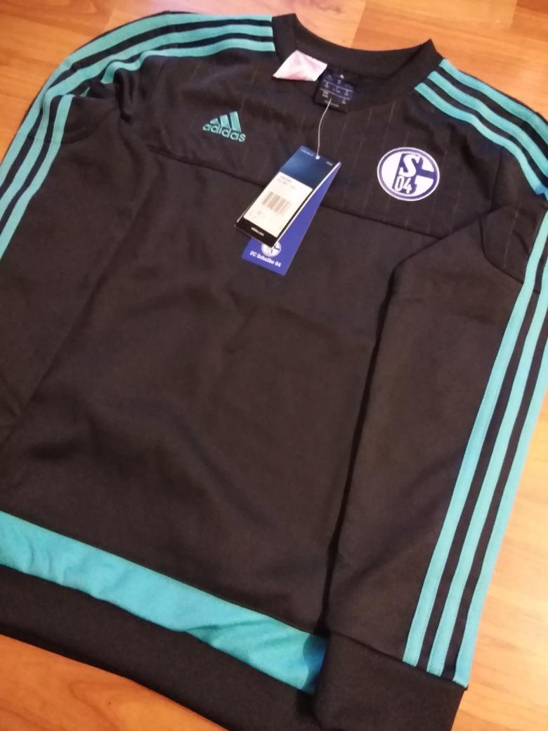 Sudadera 480 00 Perfecta 04 Shalke Única Original Adidas Nueva SFEq0E