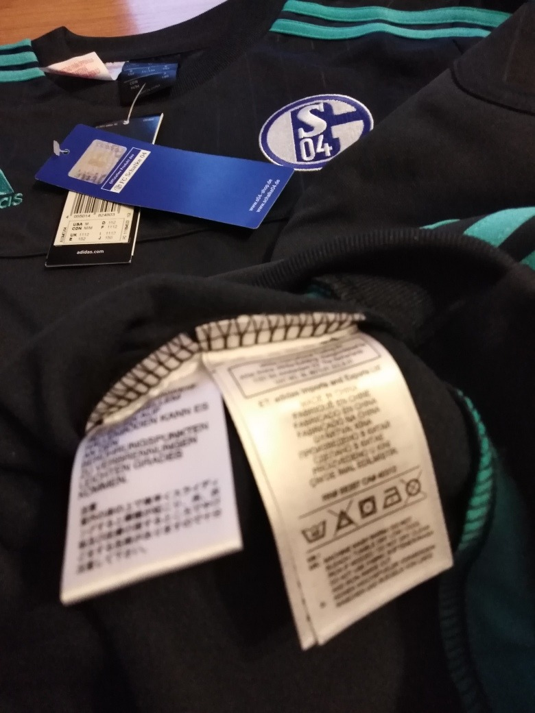 Adidas Nueva 480 Shalke Sudadera Perfecta 04 00 Original Única rnrICq