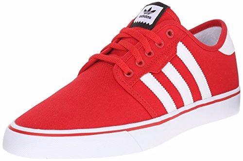 adidas  skate originals rojo-blanco 10.5 us