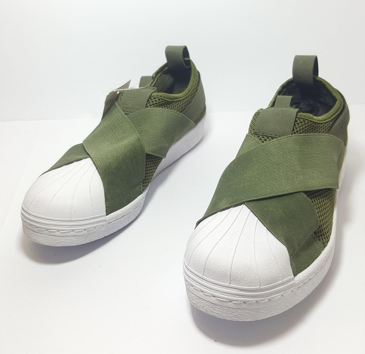 adidas slip on verde