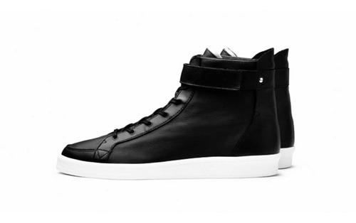 adidas slvr cupsole hi sneaker - preto