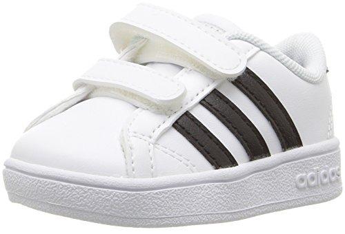 brand new 2307d 99826 adidas sneaker base adidas neo para niños , blanco   negro