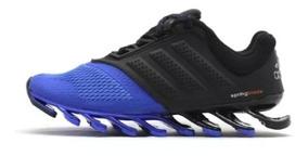 best cheap 687a6 32e85 Adidas Springblade 2014 - Tênis Urbano Azul com o Melhores ...