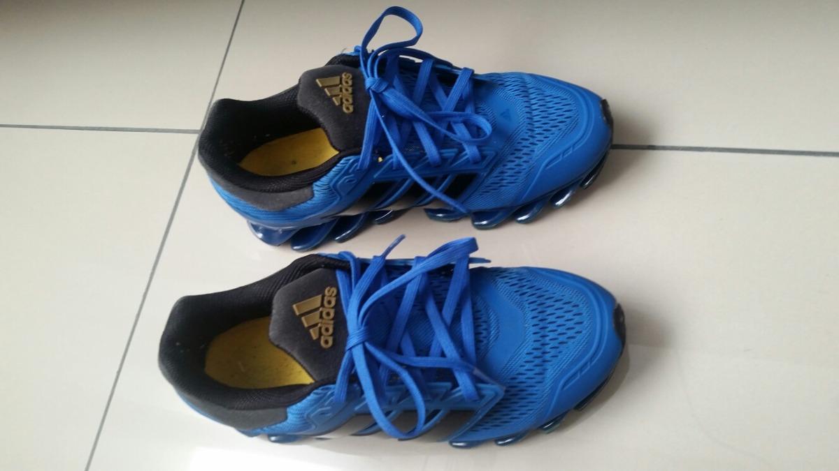 brand new ddf65 3ff2e usa adidas springblade azul original n37. carregando zoom. 18cc4 bc011