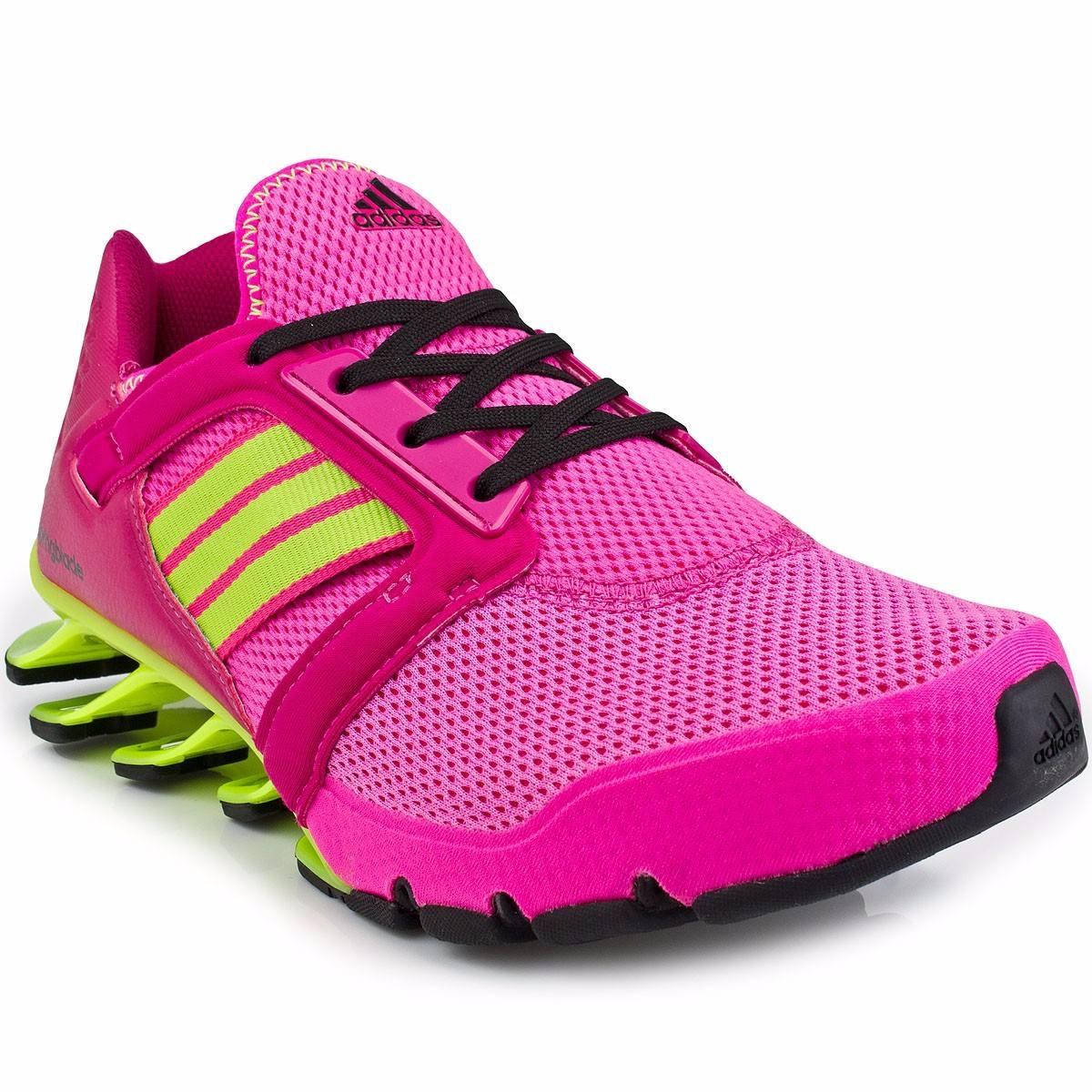 best authentic 60d06 553e7 adidas springblade e-force rosa amarelo - original en. Carregando zoom.