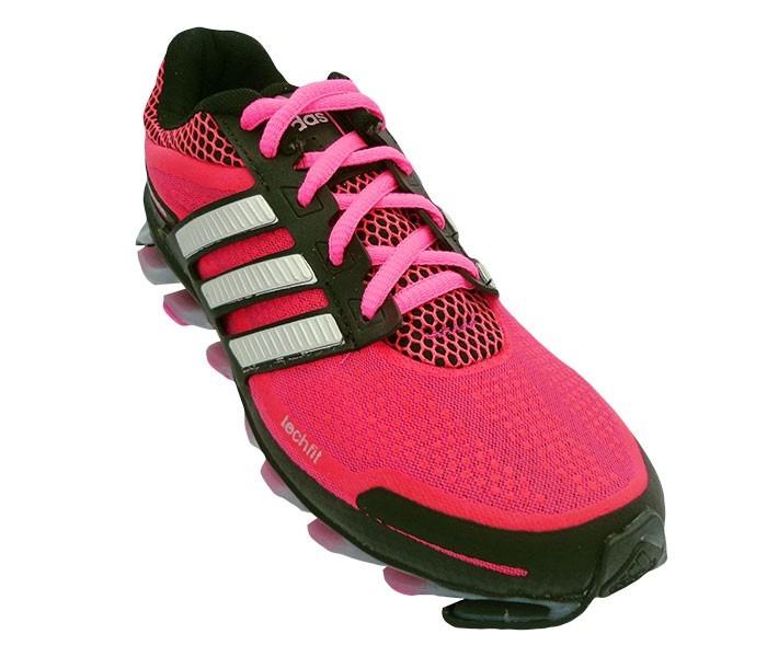 adidas springblade rosa e preto