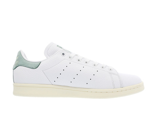 adidas stan smith blanco con gris en talón