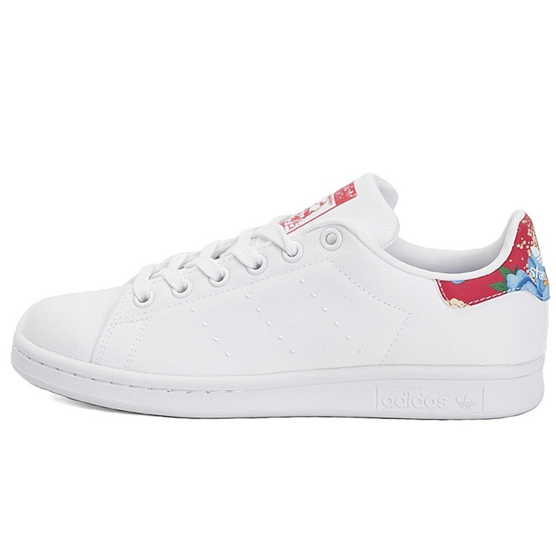 adidas stan smith blanco y gris