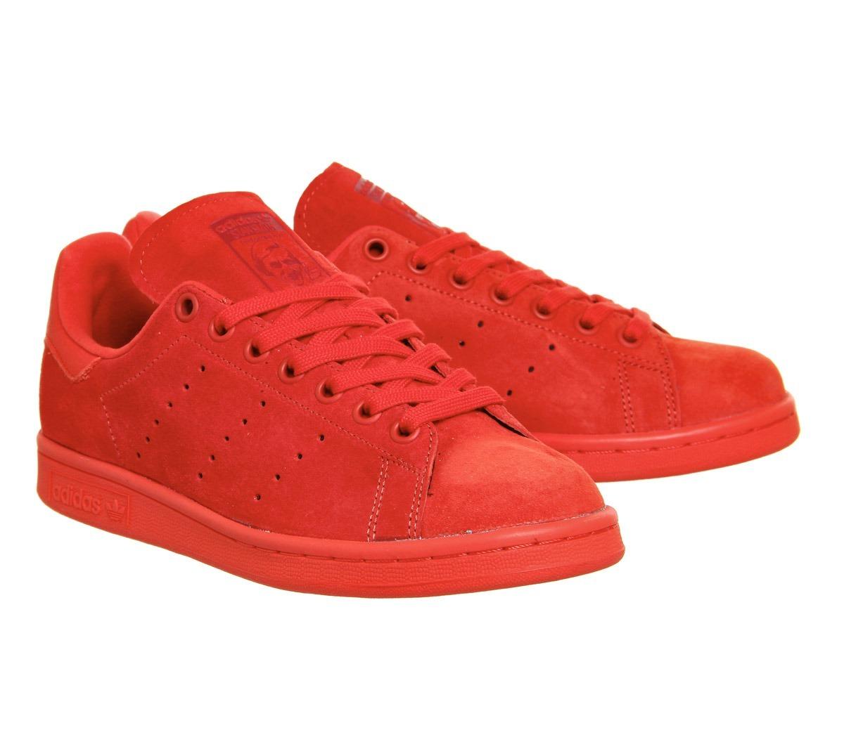 zapatillas adidas rojas stan smith