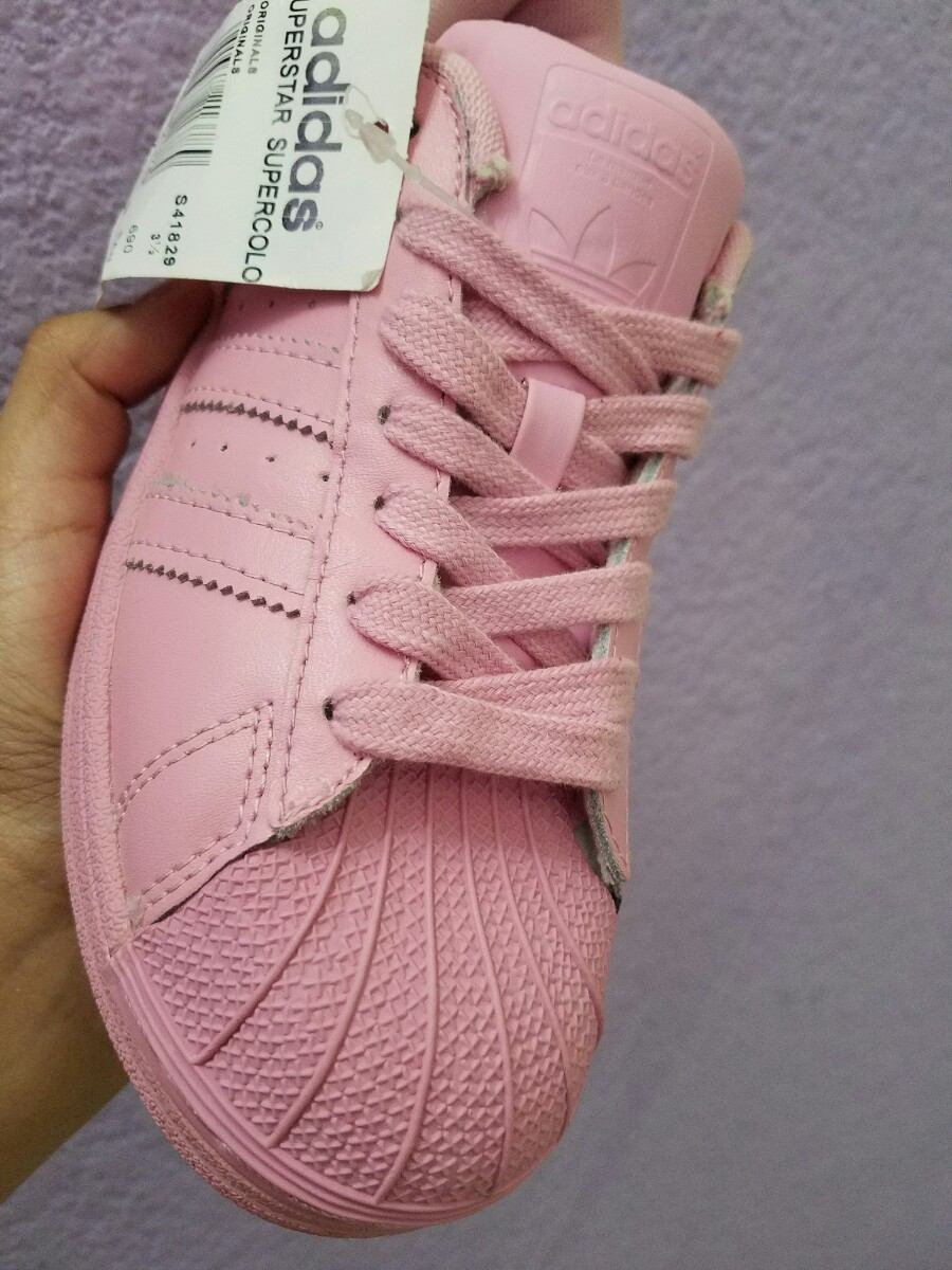 adidas rosas pastel