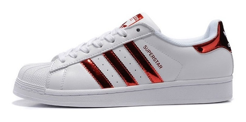 adidas super star multicolor dama y caballero