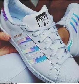 6f87ac58c9 Adidas Superstar Holografico Feminino Star - Tênis no Mercado Livre ...