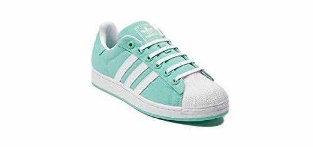 1bb057de5 adidas Superstar 2 Original Talla 23 Verde Turquesa -   439.00 en ...