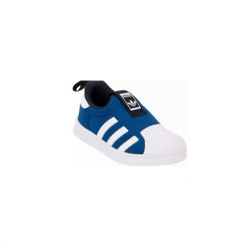 a93d8b21f cheap adidas superstar 360 bebé azules originales nuevas stock kid. cargando  zoom. 56591 efd2a