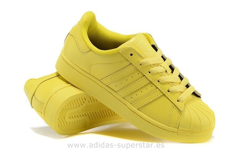 adidas superstar mujer amarillas