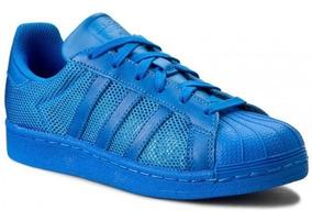 adidas superstar azul