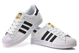 adidas Superstar Blancas Con Lineas Negras