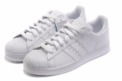 0a372c6eefe86 adidas Superstar Blancas Dama En Caja Original Envio Gratis ...