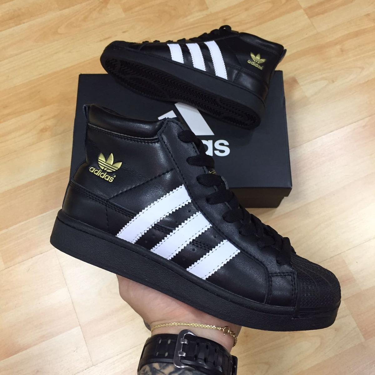 d71f04a6b adidas superstar bota negra. Cargando zoom.