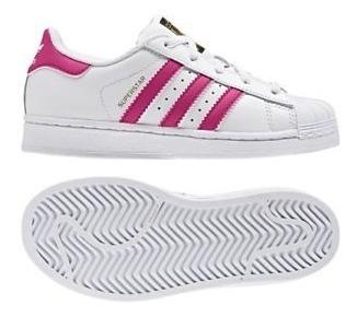 Detalles de Sneakers BA8382 Zapatillas Adidas Superstar Foundation Niña