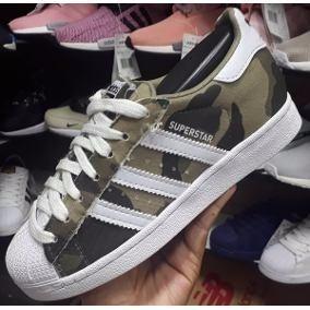 70700b1cadf Adidas Superstar Camuflado - Adidas Casuais no Mercado Livre Brasil